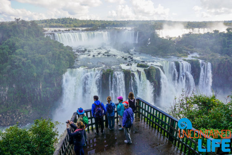 Lower Falls, Viewpoint, Iguazu Falls, Brazil, Uncontained Life