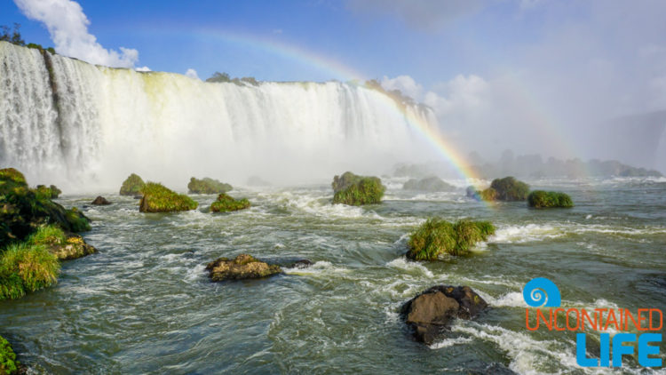 Second Level, Two Rainbows, Iguazu Falls, Brazil, Uncontained Life