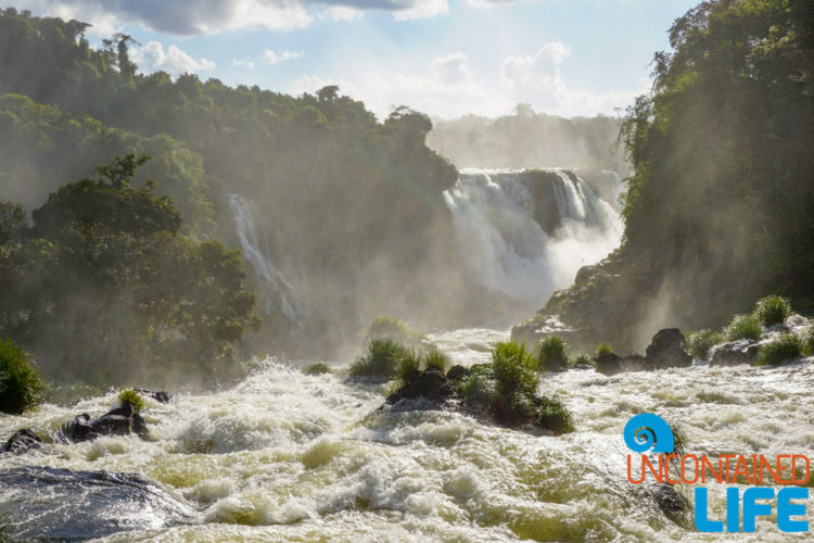 Edge, Iguazu Falls, Brazil, Uncontained Life