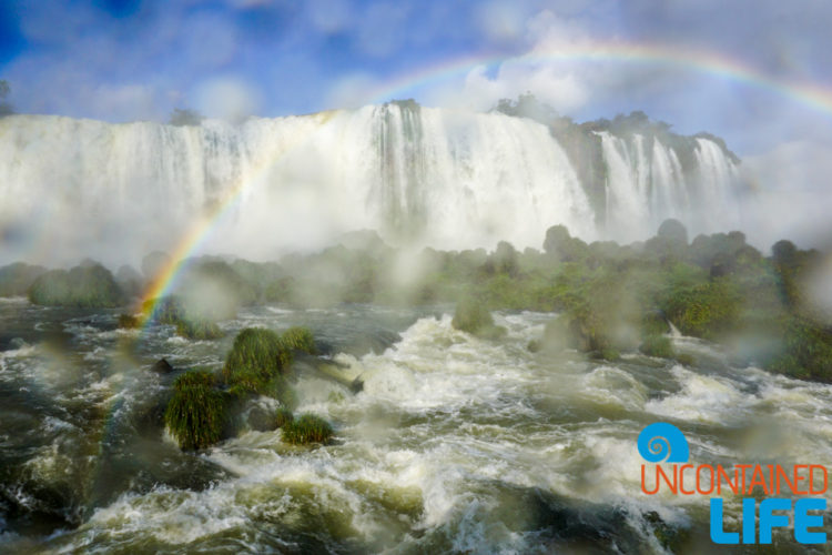 Rainbow, Lens, Iguazu Falls, Brazil, Uncontained Life