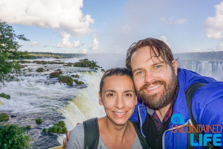 Iguazu Falls, Brazil, Uncontained Life