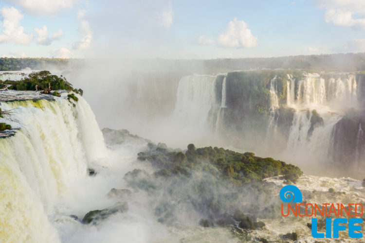 Mist, Iguazu Falls, Brazil, Uncontained Life