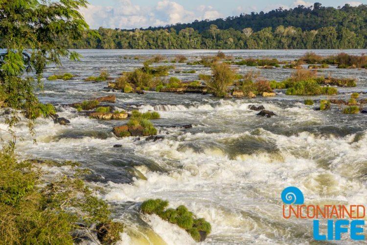 Iguazu River, Iguazu Falls, Brazil, Uncontained Life