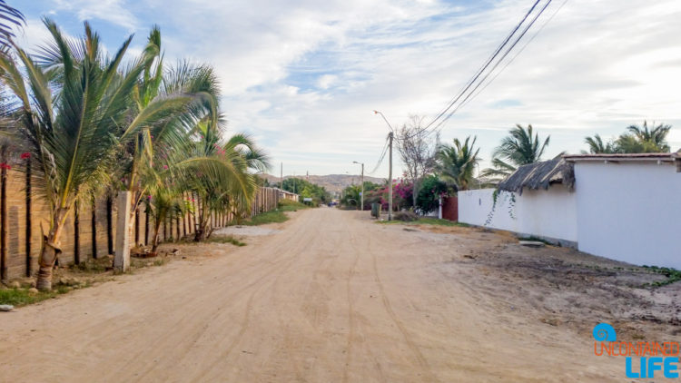 Road, Visiting Mancora, Peru, Uncontained Life