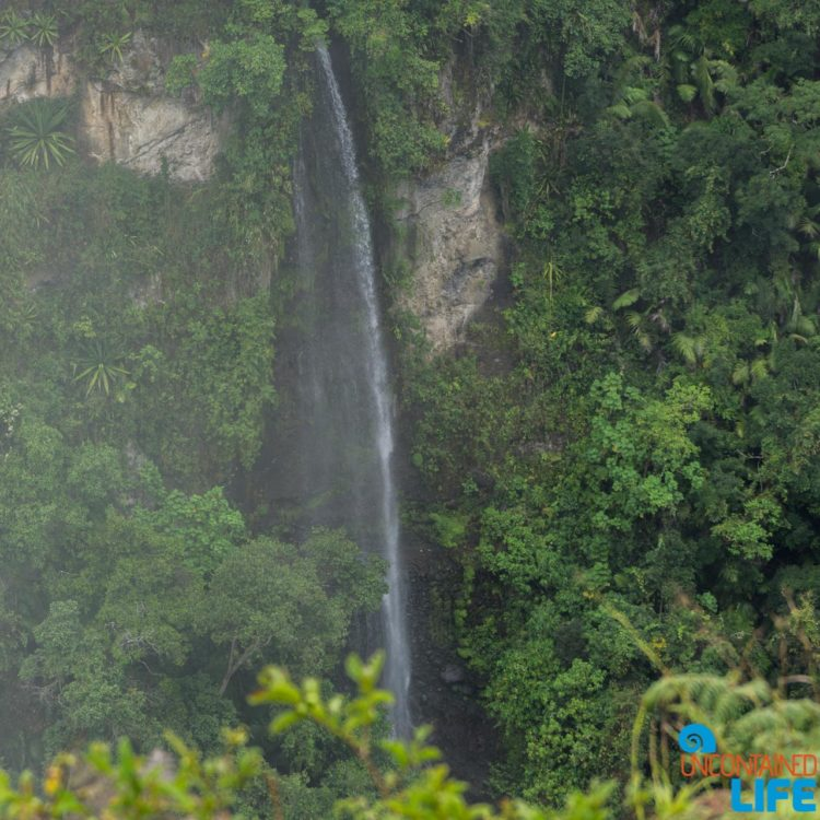 Waterfall, Horseback Riding in San Agustin, Colombia, Uncontained Life
