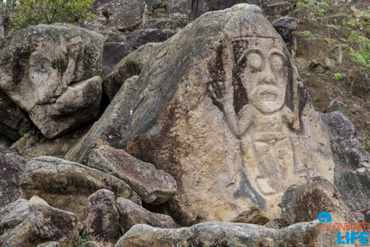 Ancient Stone Carving, Horseback Riding in San Agustin, Colombia, Uncontained Life