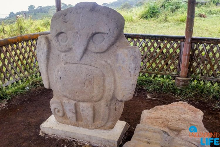 Stone Statue, Horseback Riding in San Agustin, Colombia, Uncontained Life