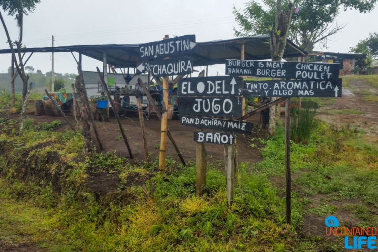 Signs, Horseback Riding in San Agustin, Colombia, Uncontained Life