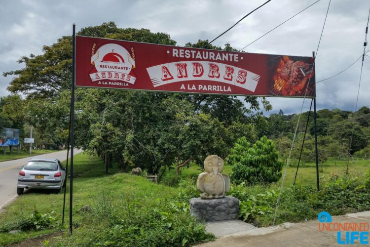 Andres Restaurante, Horseback Riding in San Agustin, Colombia, Uncontained Life