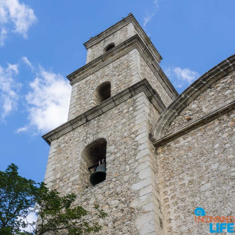 Bell Tower, Merida, Going to Mexico, Uncontained Life