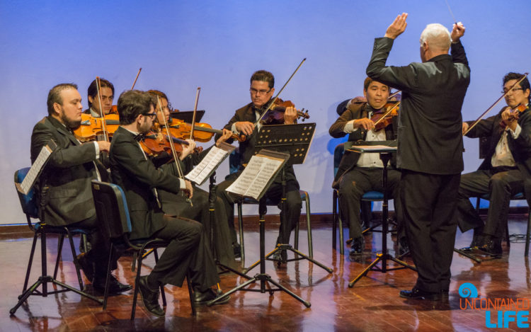 Orchestra, Going to Mexico, Uncontained Life