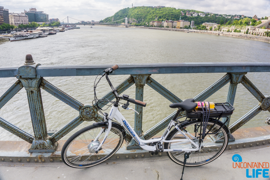 e-bike tour of Budapest, Uncontained Life