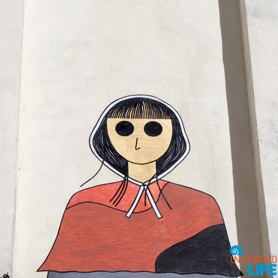 Handmaid's Tale, Amélie's Montmartre, Paris, France, Uncontained Life