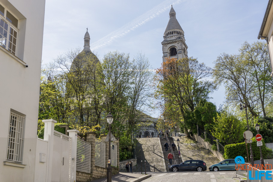 Sacre Cour,Amélie's Montmartre, Paris, France, Uncontained Life