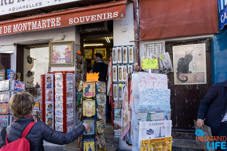Souvenirs, Amélie's Montmartre, Paris, France, Uncontained Life