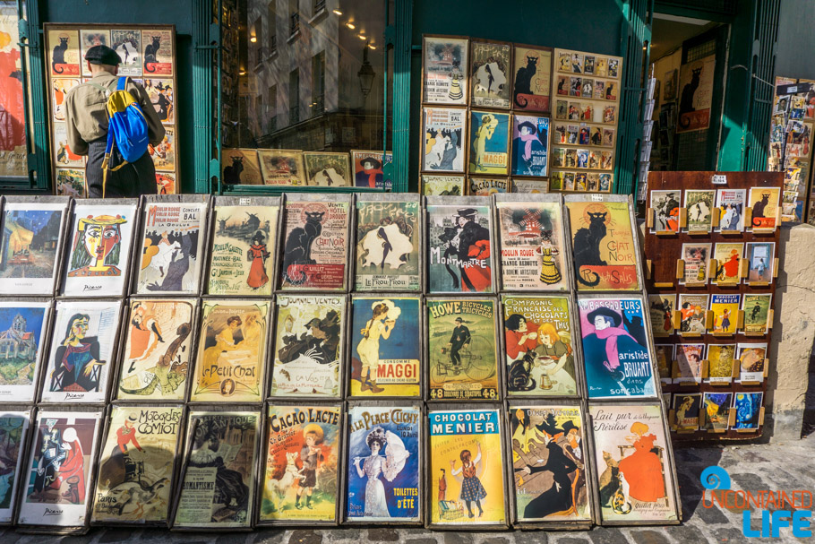 Le Chat Noir, Toulouse Lautrec, Amélie's Montmartre, Paris, France, Uncontained Life