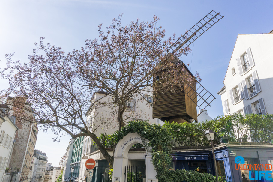 Windmill, Amélie's Montmartre, Paris, France, Uncontained Life
