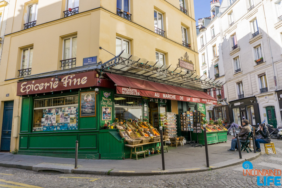 Parisian Market, Amélie's Montmartre, Paris, France, Uncontained Life