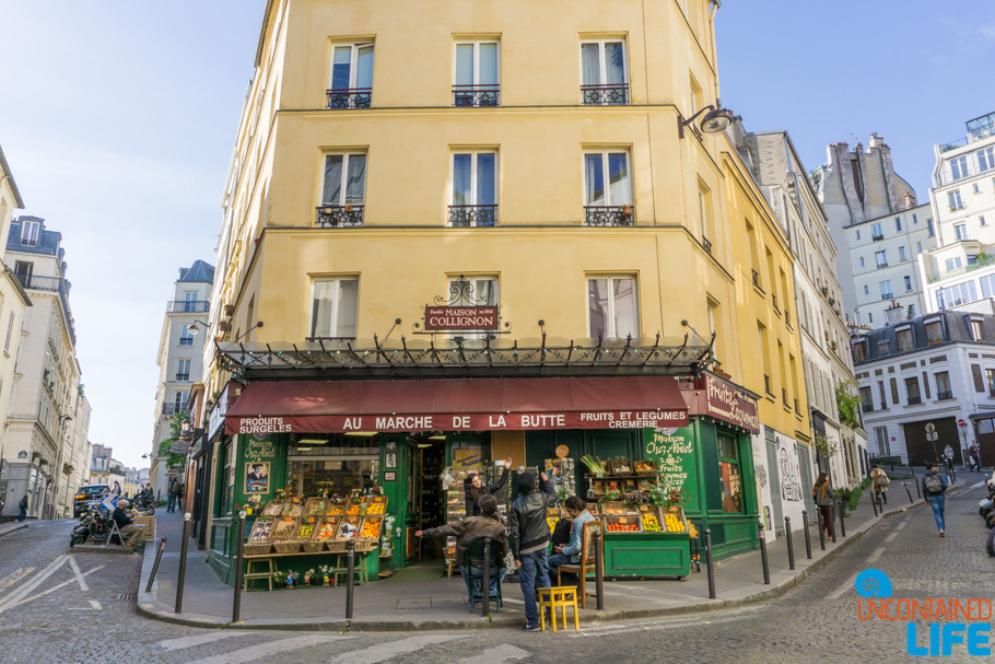 Amélie's Montmartre, Paris, France, Uncontained Life