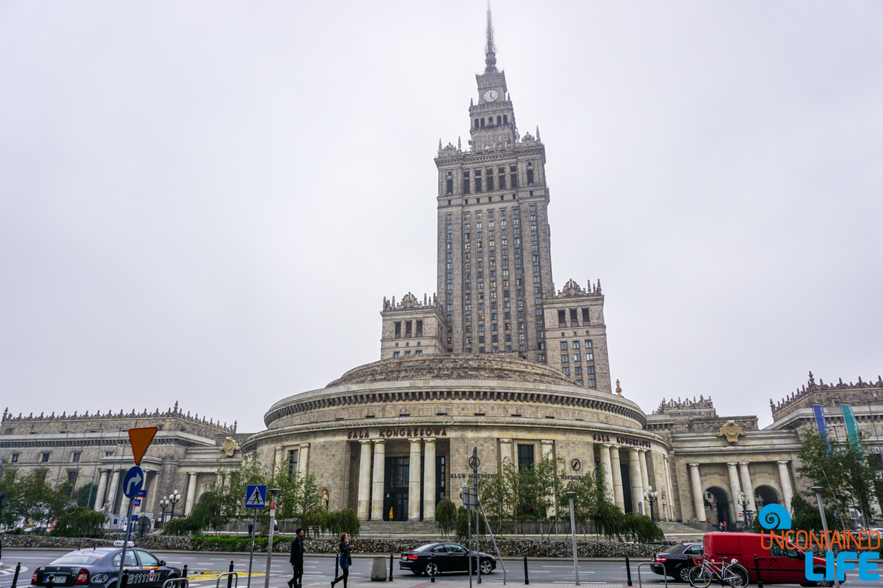 Palace of Culture and Science, Things to do in Warsaw, Poland, Uncontained Life