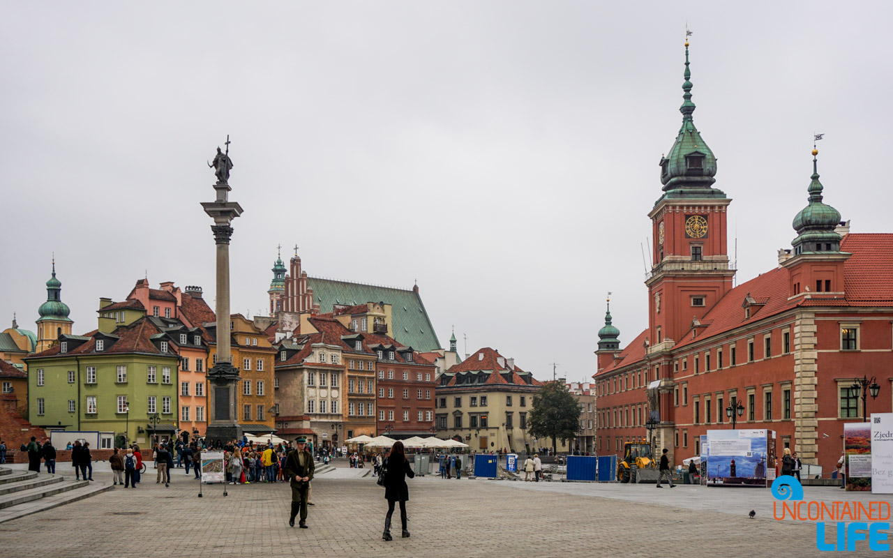 Royal Castle, Things to do in Warsaw, Poland, Uncontained Life