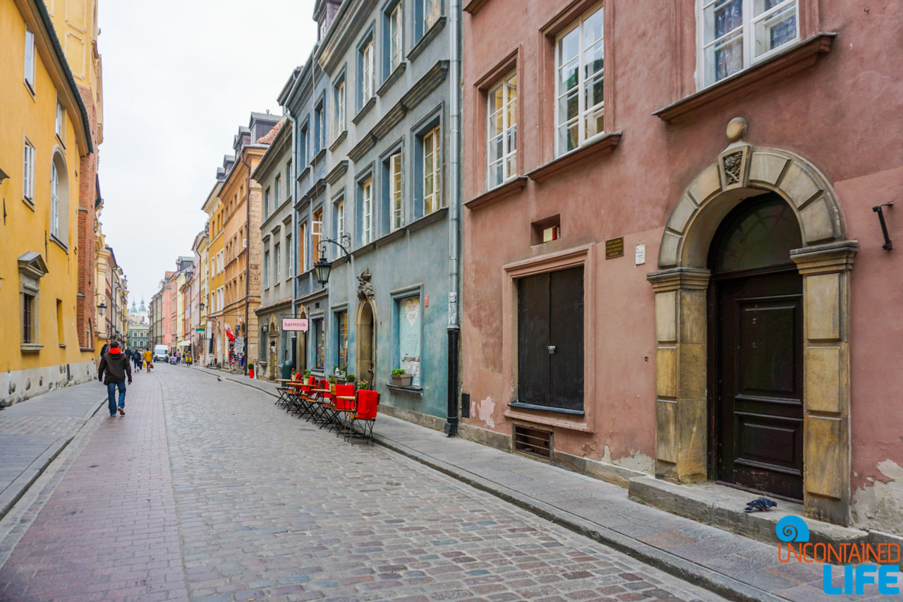 Old City Street, Things to do in Warsaw, Poland, Uncontained Life