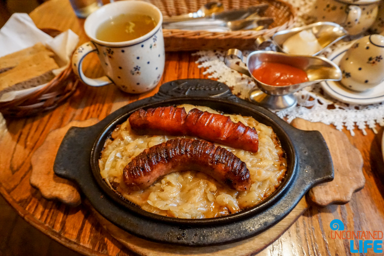 Classic Polish Food, Things to do in Warsaw, Poland, Uncontained Life