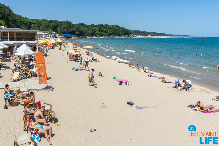 Beach, Visit Varna, Bulgaria, Uncontained Life