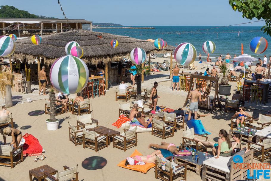 Beach Bar, Visit Varna, Bulgaria, Uncontained Life