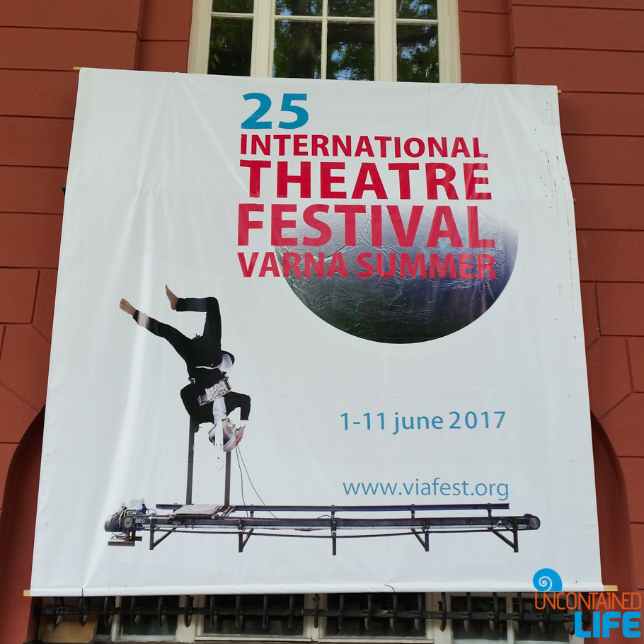 Theatre Festival, Visit Varna, Bulgaria, Uncontained Life