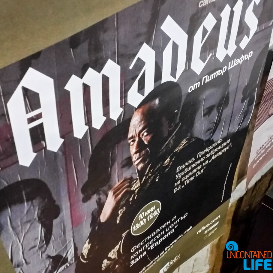 Amadeus, National Theatre, London, Visit Varna, Bulgaria, Uncontained Life