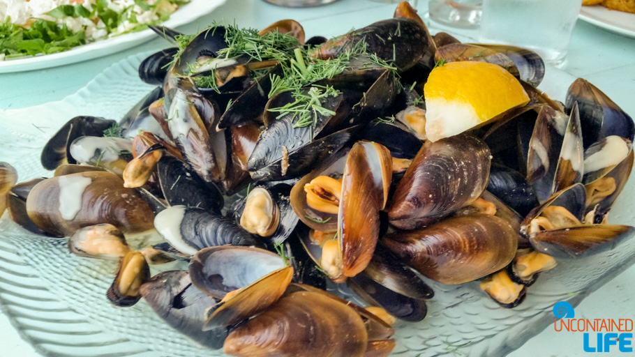 Mussels, Seafood, Visit Varna, Bulgaria, Uncontained Life