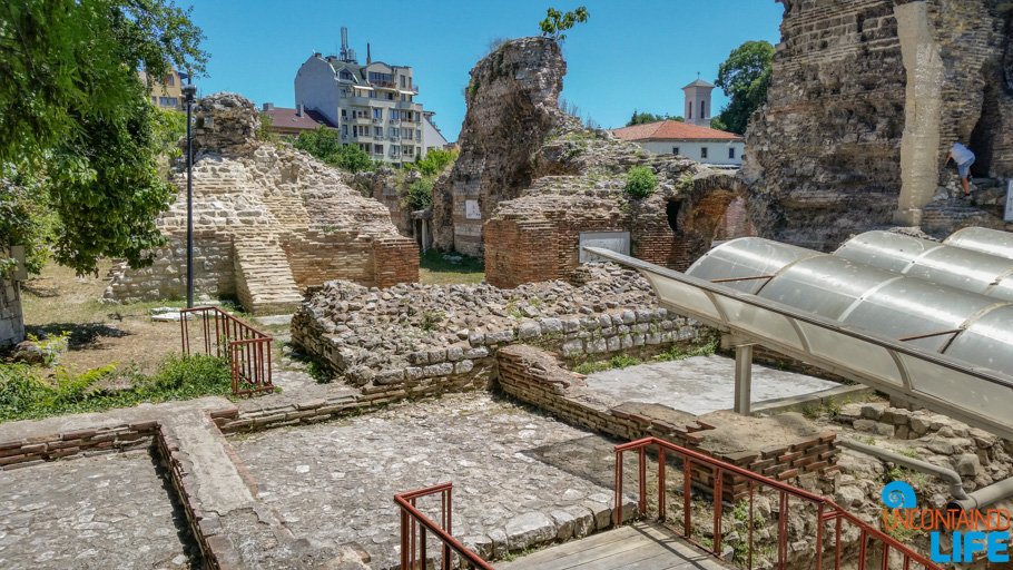 Roman Thermae, Visit Varna, Bulgaria, Uncontained Life