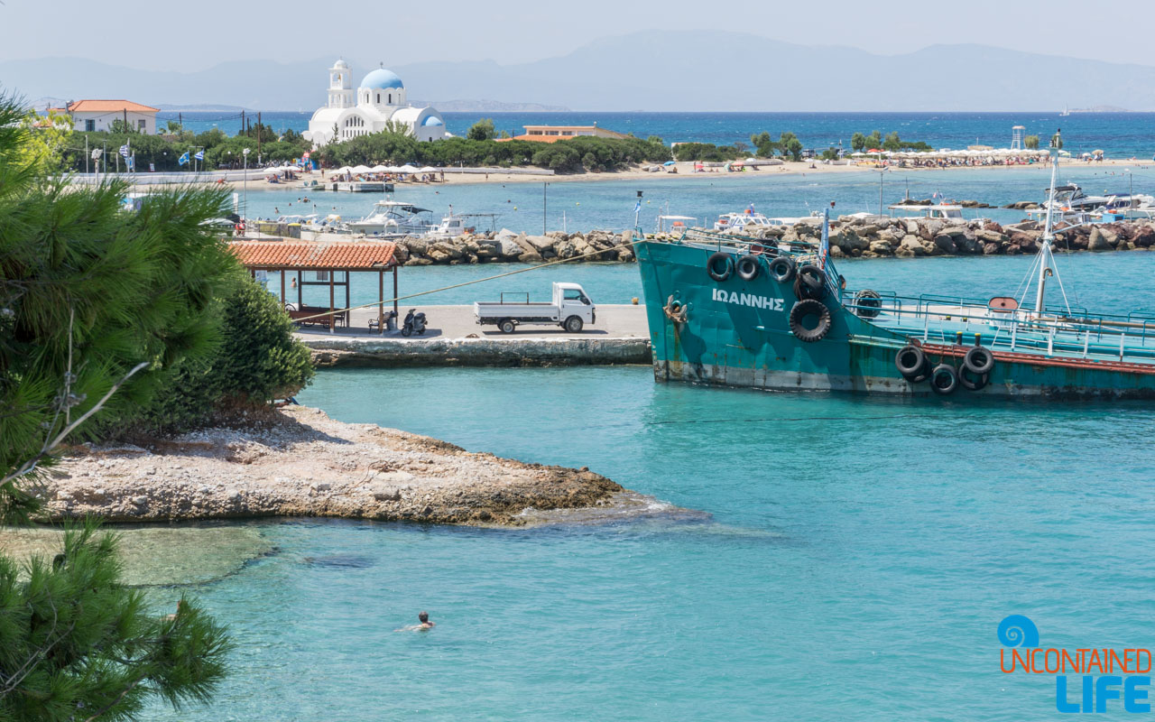 Boat, Visit Agistri, Greece, Uncontained Life