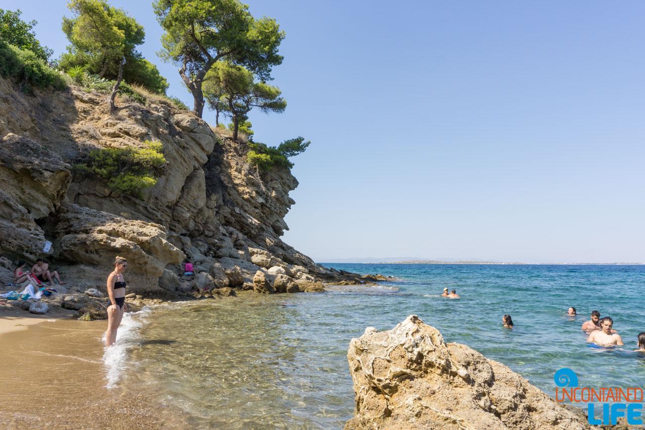 Secret Cove, Visit Agistri, Greece, Uncontained Life