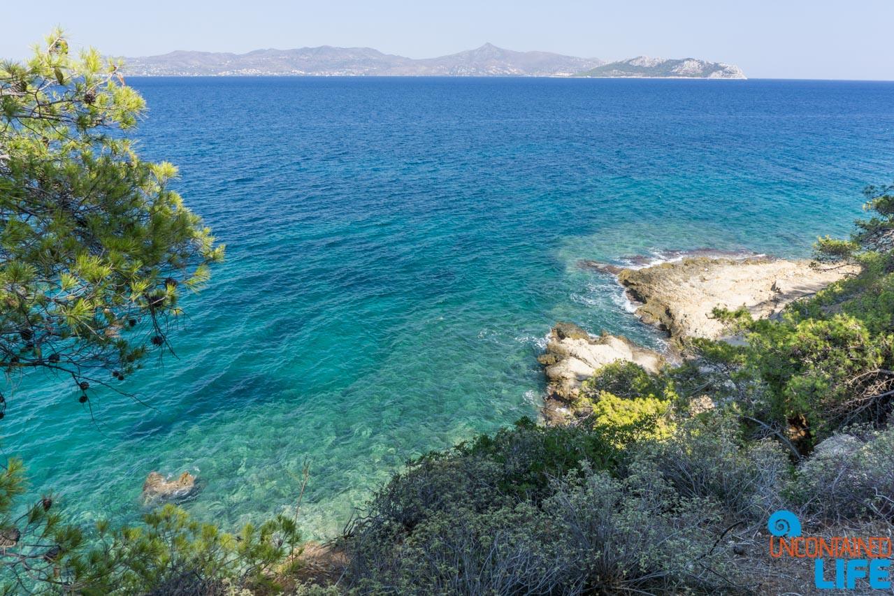 Coast, Island, Visit Agistri, Greece, Uncontained Life