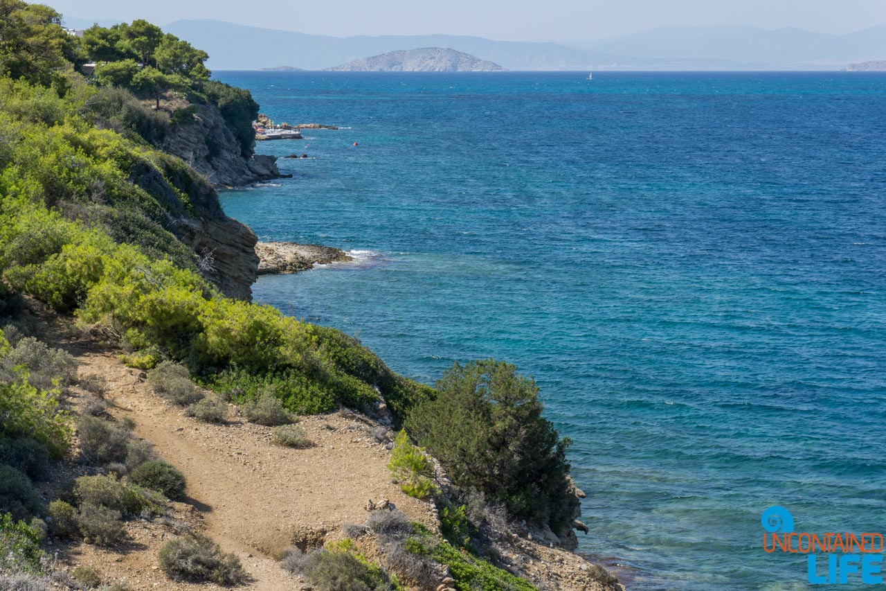 Hiking, Visit Agistri, Greece, Uncontained Life