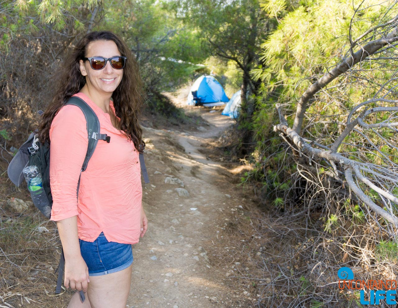 Camping, Visit Agistri, Greece, Uncontained Life