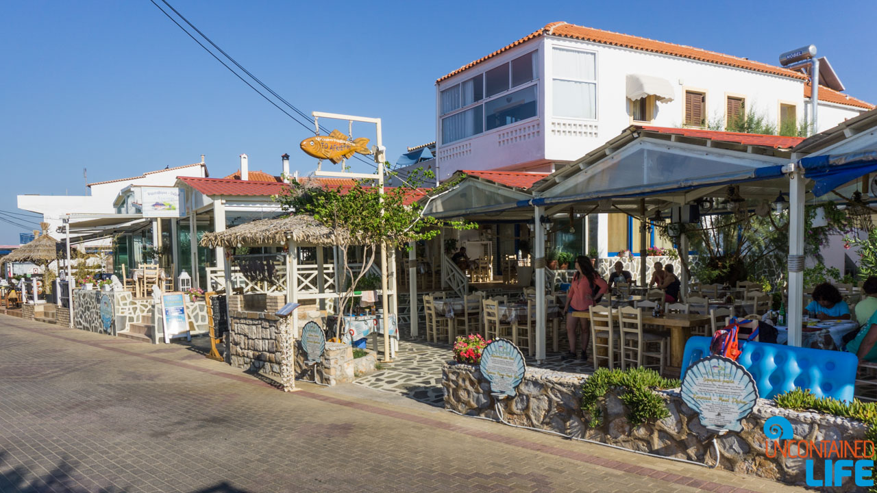 Restaurants, Visit Agistri, Greece, Uncontained Life