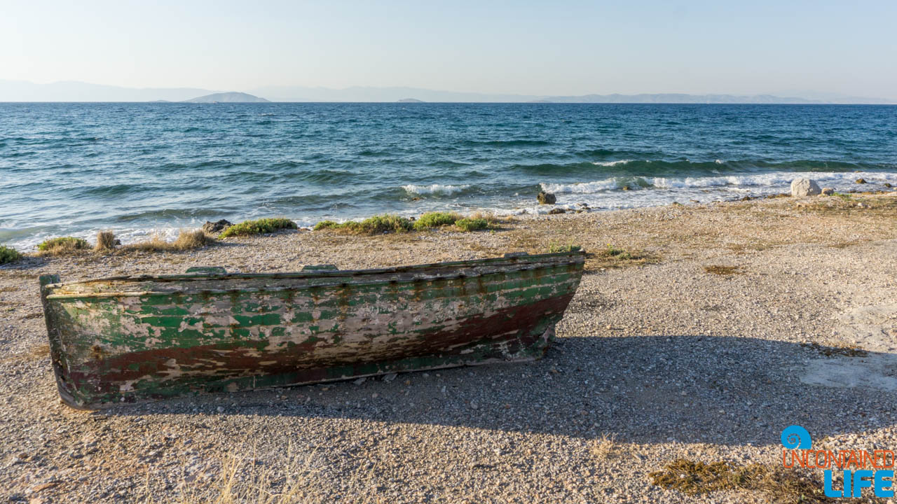Old Row Boat, Visit Agistri, Greece, Uncontained Life