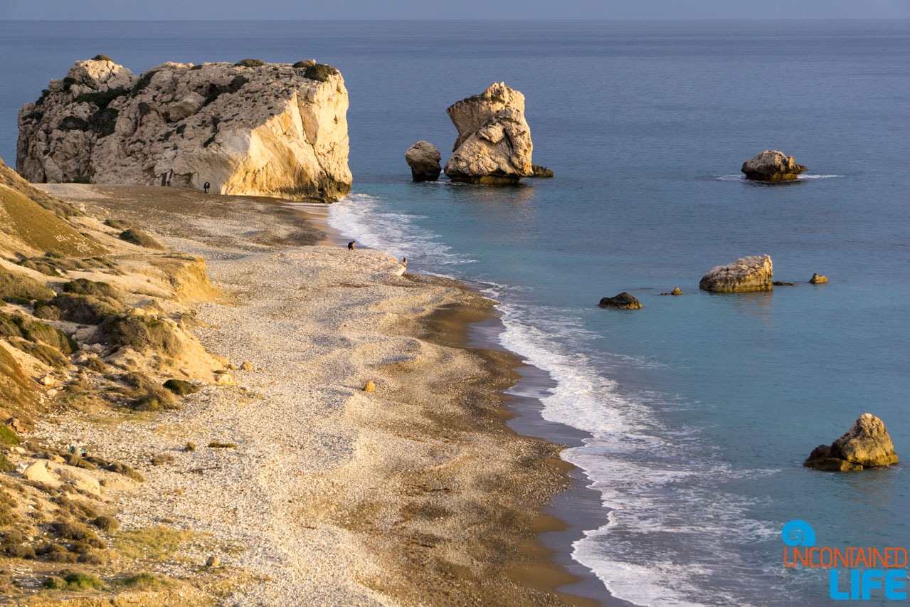 Cyprus, Aphrodite's Rock, Year of Travel, Uncontained Life