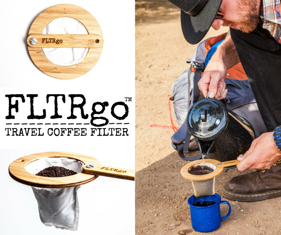 FLTRgo Travel Coffee Filter, Kickstarter, Year of Travel, Uncontained Life