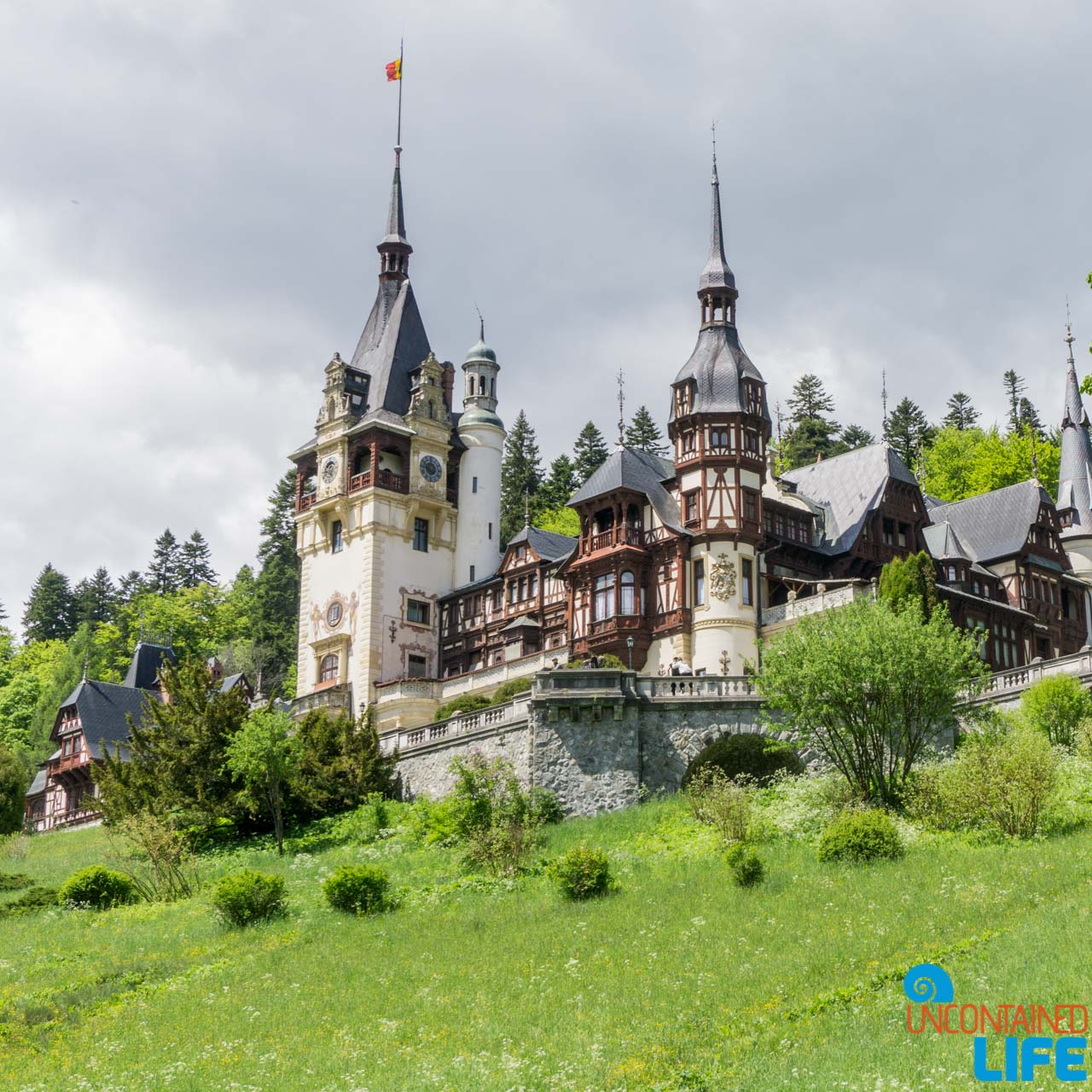 Peles Castle, Road Trip through Transylvania, Romania, Uncontained Life