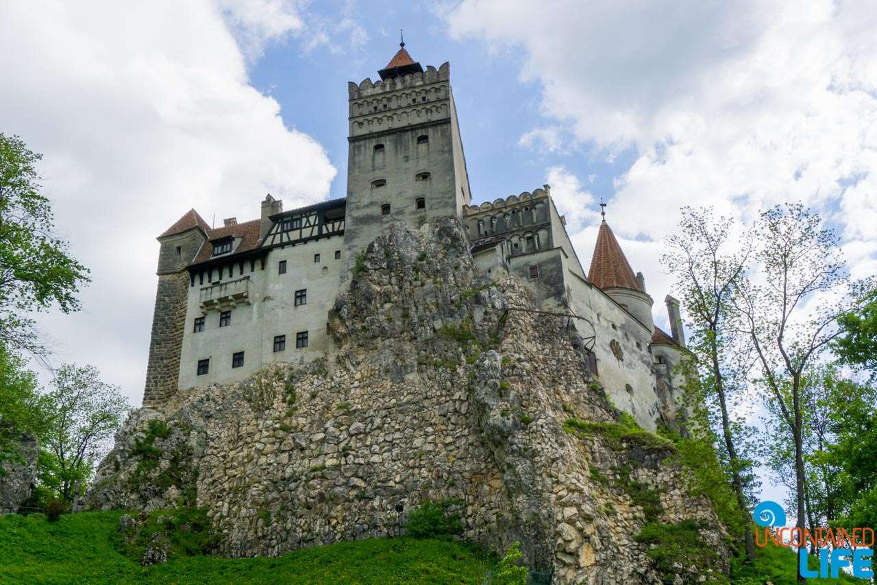 Bram Castle, Dracula, Transylvania, Romania, Year of Travel, Uncontained Life