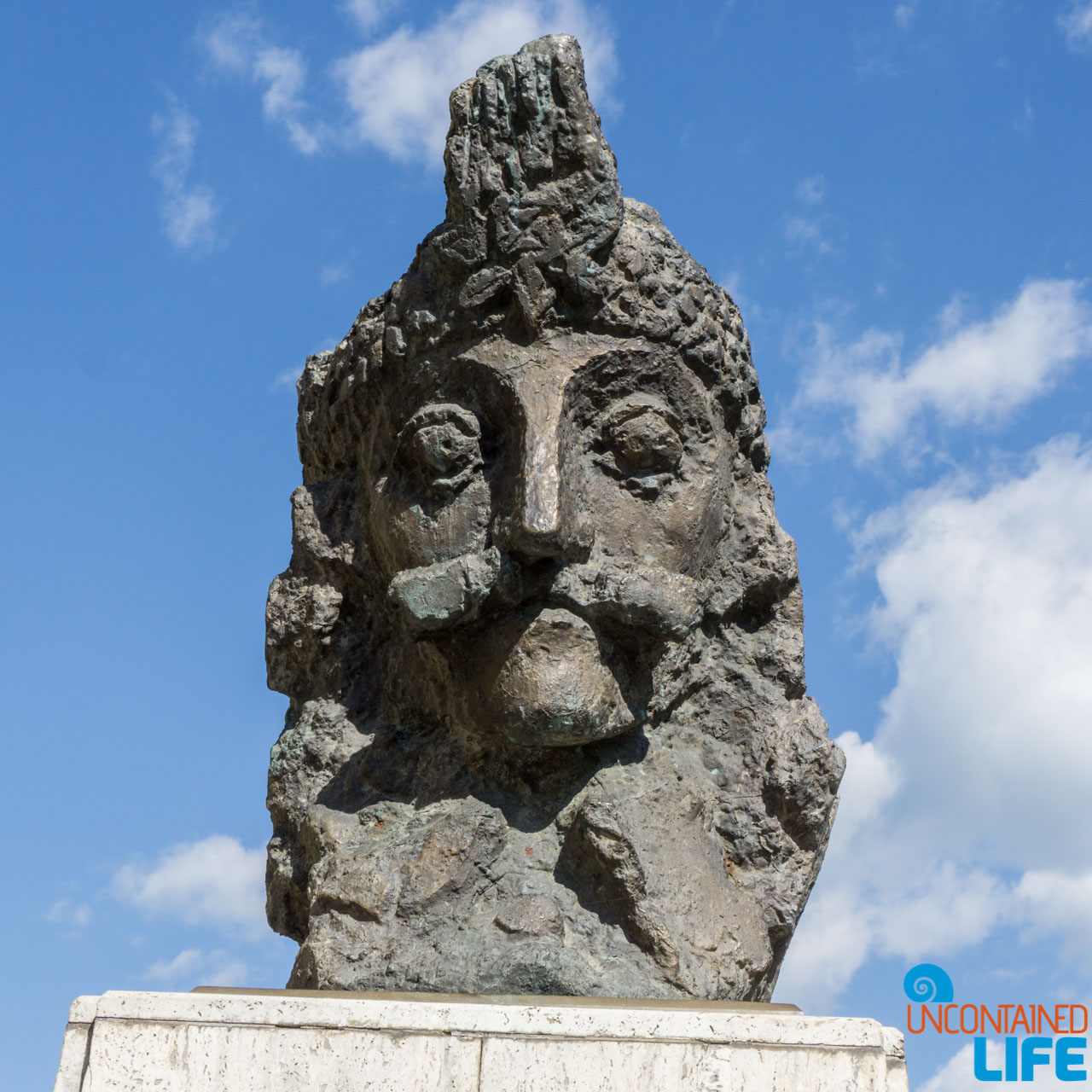 Vlad the Impaler Statue, Road Trip through Transylvania, Romania, Uncontained Life