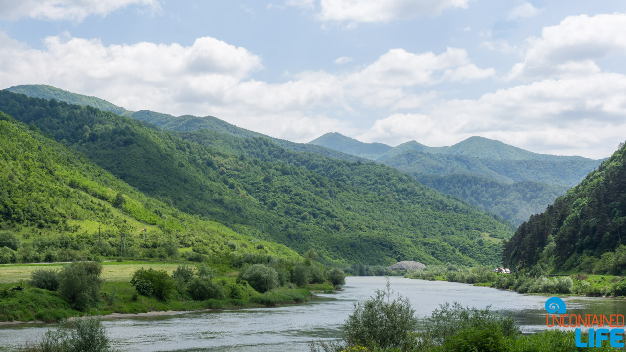 River, Road Trip through Transylvania, Romania, Uncontained Life