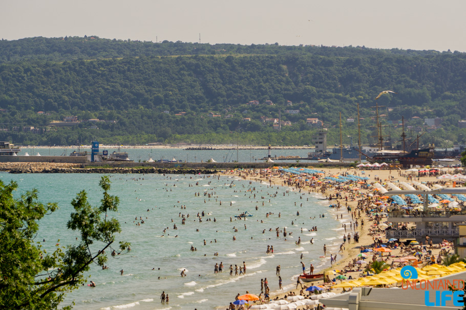 Beach, Varna, Bulgaria, Black Sea, Year of Travel, Uncontained Life