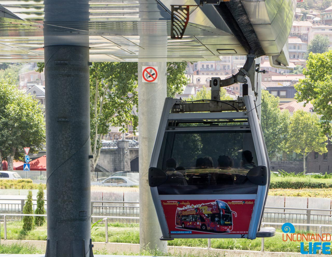 Air Tram, Narikala Fortress, Tbilisi, Georgia, Uncontained Life