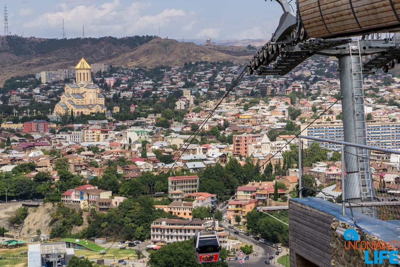Holy Trinity Cathedral, Narikala Fortress, Tbilisi, Georgia, Uncontained Life