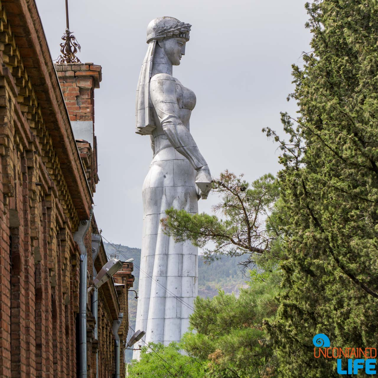 The Mother, Narikala Fortress, Tbilisi, Georgia, Uncontained Life